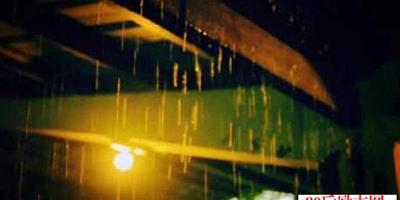 下雨天的散文:今夜,有雨敲窗!
